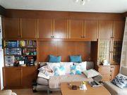 Wohnzimmermöbel in Vollholz Eiche rustikal