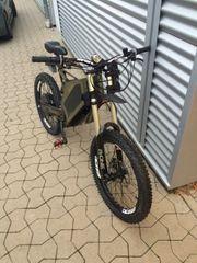 Stealth Bomer Elektrisch Bike