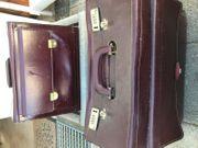 zwei Aktentaschen aus Leder
