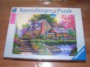 Puzzle Romantisches Cottage von Ravensburger