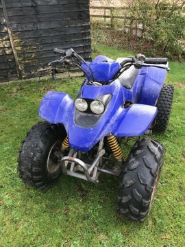Quads, ATV  (All Terrain Vehicles) - Quad - SMC 100cc Bike Off