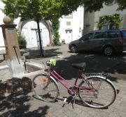 Herren Fahrrad an Bastler