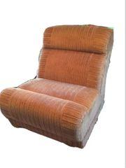Sessel Sofa braun Ocker 5