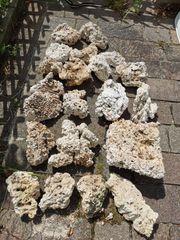 Totes Riffgestein für Meerwasseraquarium zu