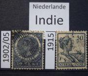 INDIE Niederlande 1902-1915