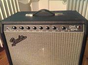 Top Fender Steel King Amp -