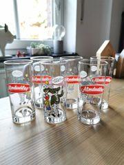 6 Almdudler Gläser Glas 0