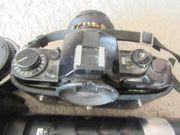 Canon A1 Spiegelreflexkamera mit 2
