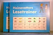 2x Heinevetters Lesetrainer 1 Klasse