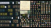 Briefmarkensammlung - Altdeutschland Deutsches Reich