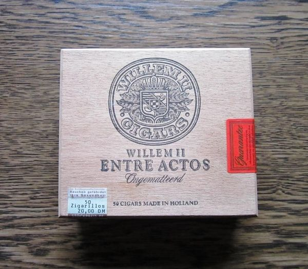 Zigarrenkiste Willem Cigars