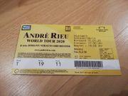Eintrittskarte André Rieu Stuttgart Schleyer-Halle