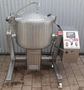 Gastronomie, Ladeneinrichtung - 125 L Poltermaschine Mischmaschine Mengmaschine