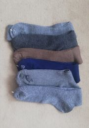 6 Paar Herrensocken aus Wolle