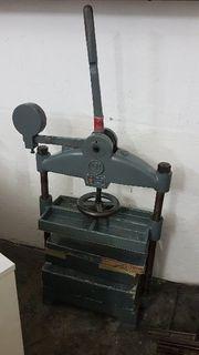 Falz-Niederdruckpresse K Tränklein