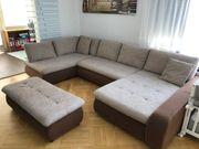 Wohnlandschaft Schlafsofa U-Sofa