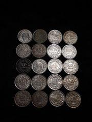 20X 1 2 Franken Silberkonvolut