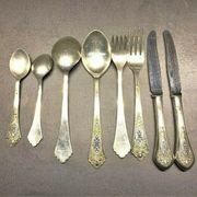 Barrock Besteck aus 925er Silber
