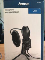 HAMA Mikrofon USB Stream