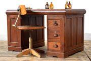 antiker Schreibtisch um 1920 aus