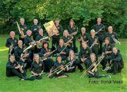 Posaunist in von Blasorchester BOA