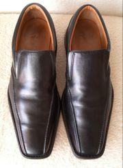 CLARKS Männer Leder Business-Schuhe Halbschuhe