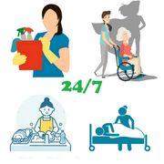 Pflege Haushaltskraft 24 7