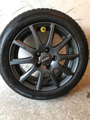 Winterkompletträder für Skoda Roomster Audi