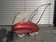 Puppenwagen retro vintage antik 50er