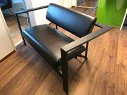 Echt Leder Couch und Sessel