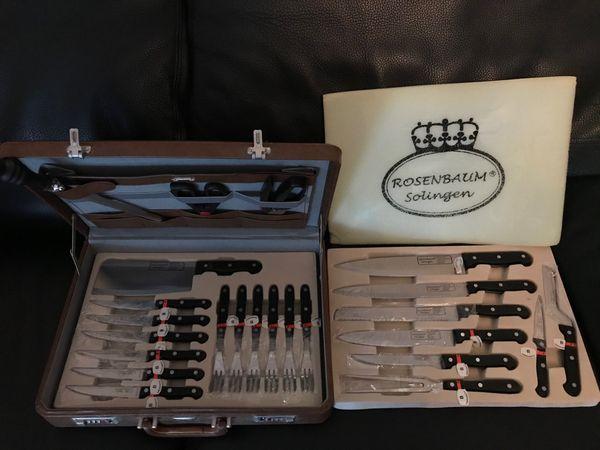 Rosenbaum Solingen Messer Set 24