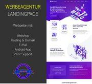 Webseite für Werbe- und Internetagenturen