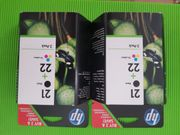 Druckerpatronen HP 21 22