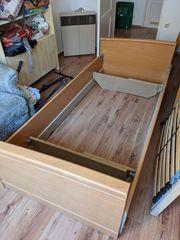 Bett inkl Lattenrost und Matratze