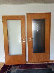 Zimmertüren mit Glaseinsatz