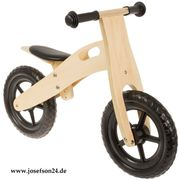Laufrad aus Holz Natur Anlen