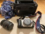 Canon EOS 300 Tasche Linse