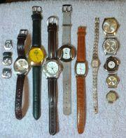 Uhren Konfolut