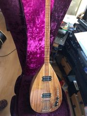 Türkische elektrische SAZ-Gitarre Sondermodell auch