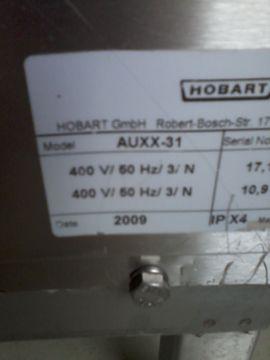 Gastronomie, Ladeneinrichtung - Hobart-AUXX-31 maschine