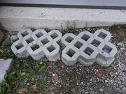 Rasengitterstein zu verschenken