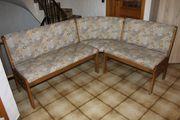 Eckbank Tisch ausziehbar und Stühle