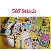 587 Pokemon Sammelkarten