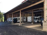 Wohnwagen -mobil Stellplatz