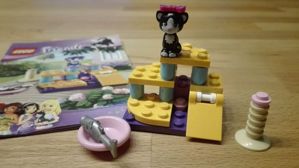 Lego Friends Katzenspielplatz