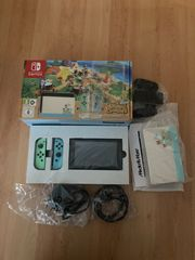 Nintendo Switch Anima Crossing Edition