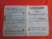 Hercules Hobby-Rider HR 2 Bertriebserlaunnis