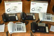 5x Siemens Euroset 5020 Komforttelefon