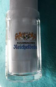 Kulmbacher Reichelbräu Glaskrug Bierglas
