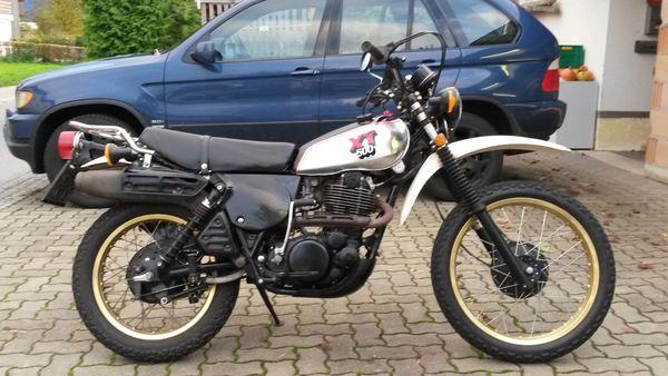 Yamaha XT 500 das Original